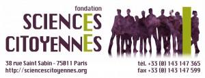 Logo FSC (allongé, texturé, avec adresse dessous)