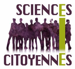 Logo Sciences Citoyennes (carré avec texture)