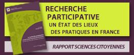 Rapport 'La recherche participative comme mode de production des savoirs'